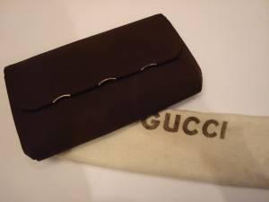 Gucci pochette gros grain