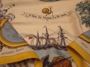 Hermès Paris foulard