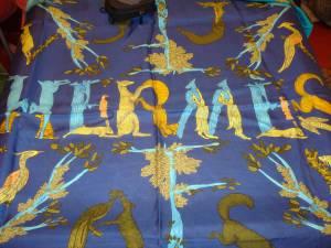 Hermès foulard Alphabet