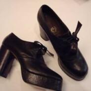 Vintage Store A ritroso : scarpe anni '70
