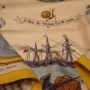 Vintage Store A ritroso: foulard Hermès